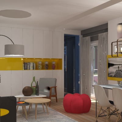 Vista Panorámica Apartamento Soltero 03