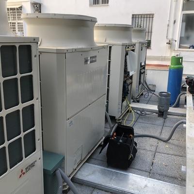 Sistema de climatización vrv Mitsubishi Electric