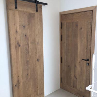 Puertas de madera de Roble