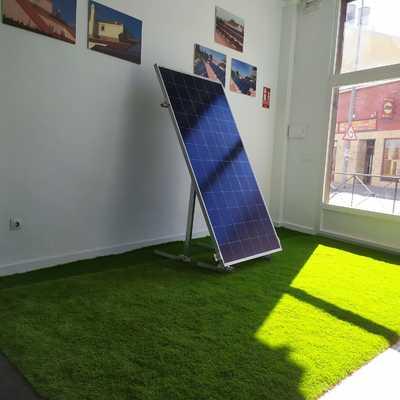 Tecnología del mundo solar