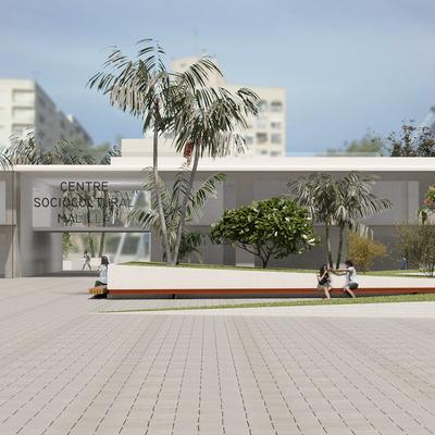 Infografía Centro cultural