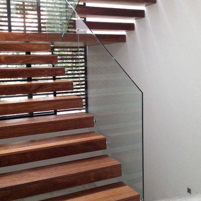 Escalera principal para una villa (Santo Domingo, República Dominicana)