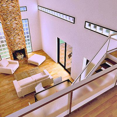 Interior viviendas pareadas