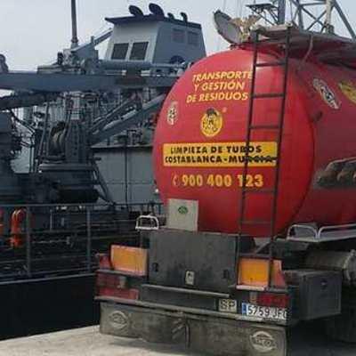 Servicio limpieza tanques maritimos