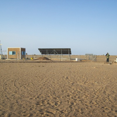 Bombeo Solar en el Sahara