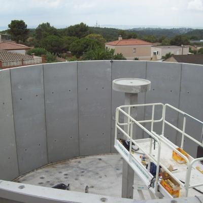 Deposito de Agua del pueblo de El Catllar