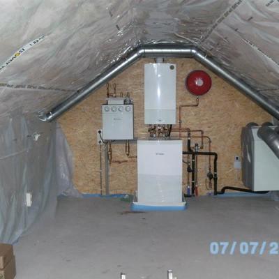 instalacion de callefacion con suelo radiante