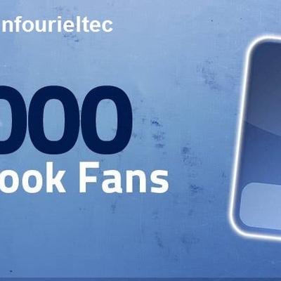 Mas de 1000 fans en Facebook