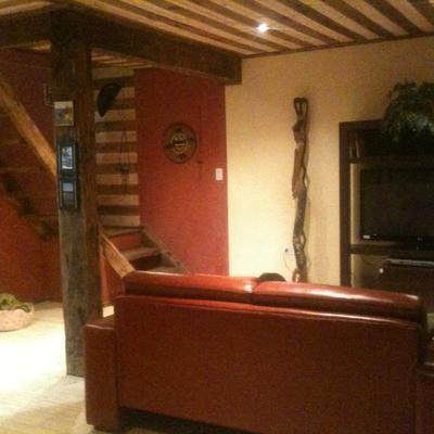 Interior casa de madera 75 m