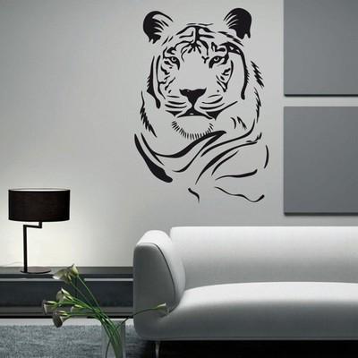 Dibujo decorativo salón