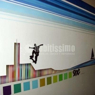 Pintores, Obras Menores, Murales