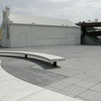 Obra: Centro de interpretación del complejo de Oscar Niemeyer