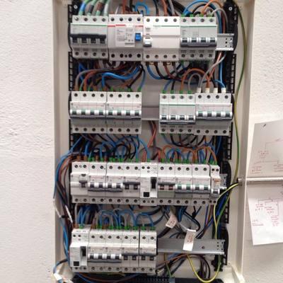 Cableado interno cuadro electrico