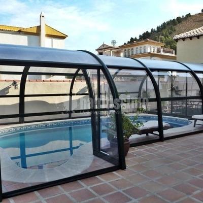 Cerramientos piscinas, cubripiscinas