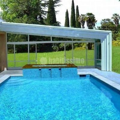 Presupuesto construcci n cubierta pisable para piscina en for Piscina cubierta zaragoza