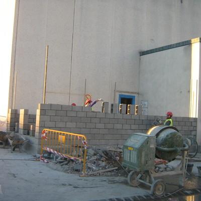 Proyecto de obra civil para centro de transformación de electricidad PROYECTOS DE OBRAS, DIRECCIÓN DE OBRAS Y GESTIÓN DE INDUSTRIALES