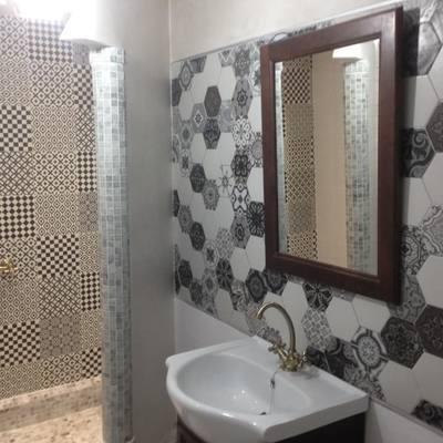 Reforma de baño con toque árabes