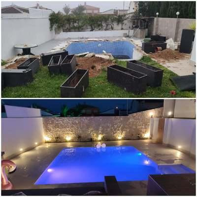 Reforma integral de piscina y estancia exterior.