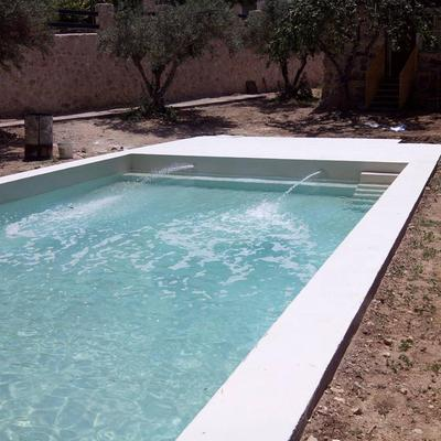 Piscina con Microcemento Pool