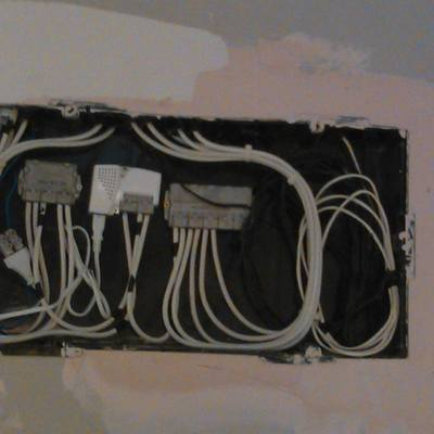 Caja de telecomunicaciones de vivienda
