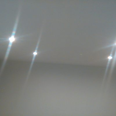 Aros empotrables con lámpara led.