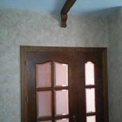 Envejecido de paredes con técnicas sintéticas