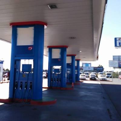 Pintura gasolineras Sara
