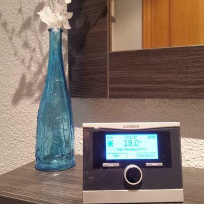 Termostato radio de una caldera Vaillant