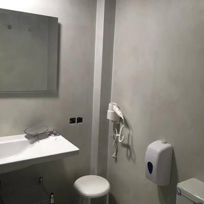Baño de muestra en hotel Altea