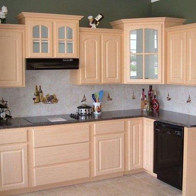 ideas y fotos de muebles cocina con molduras para