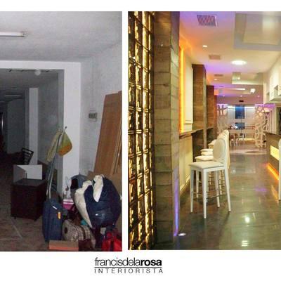 Antes y después Restaurante Némesis