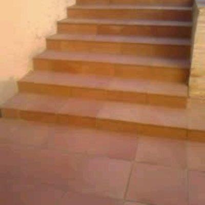 Escalera tipo rustico