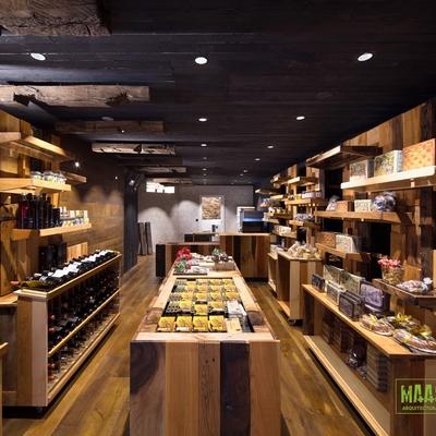 interior tienda gourmet