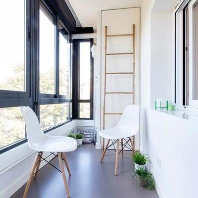 Balcón acristalado