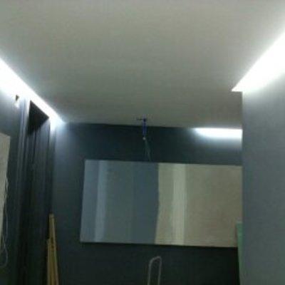 techo con fosa de luz
