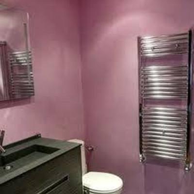 reforma baño micro cemento