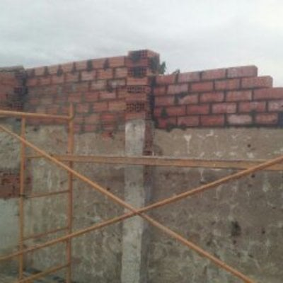 Elevación de muro