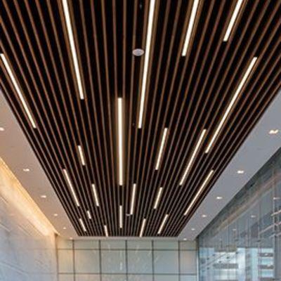 Instalación de luminarias led integradas