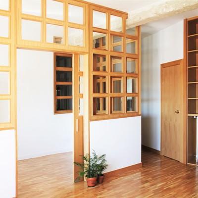 Vidrieras de madera