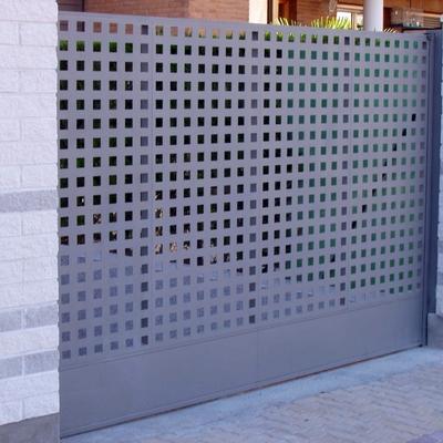 15- Puerta corredera