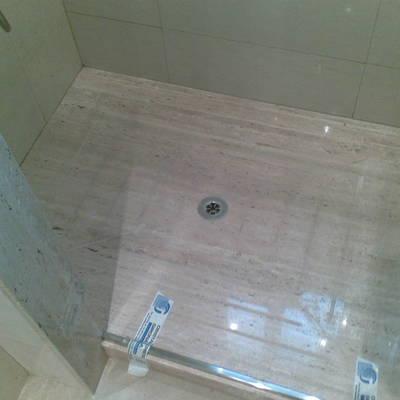plato ducha marmol