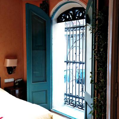 Puerta  dormitorio antes