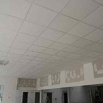 Paramento de pladur y falso techo