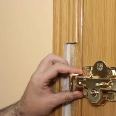 Intalacion de cerrojos de Seguridad
