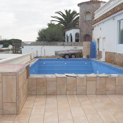 Terraza nueva y reformar piscina