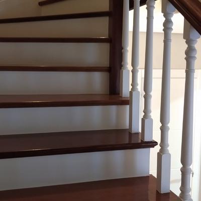 Escalera Después