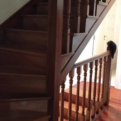Escalera Antes