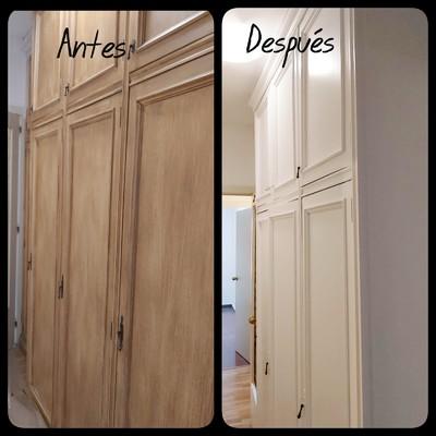Pintura carpinteria madera