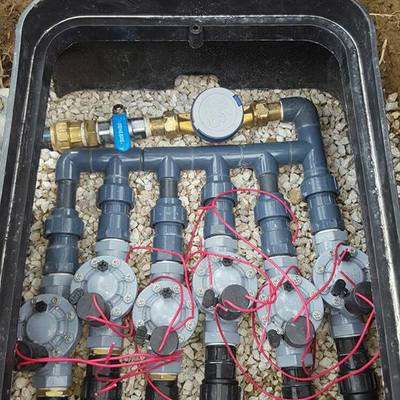 Renovación de sistema de riego