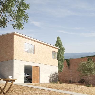 Ampliación vivienda en Batres, Madrid